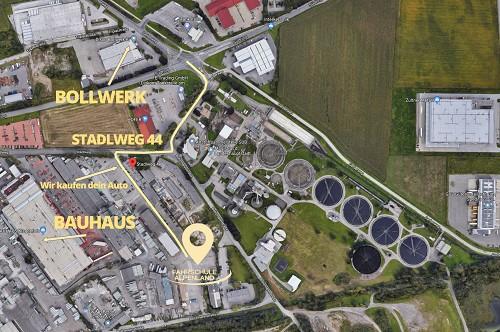 Fahrschule Alpenland Übungsplatz Uebungsplatz Practice Court Stadlweg 44